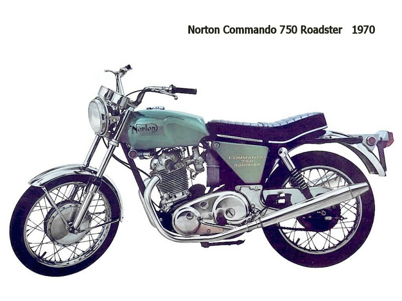 1970 Norton Commando 750 Roadster